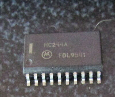 MOTOROLA HC244a INTEGRATED CIRCUIT 20-PIN  NEW Old Stock LOT QUANTITY-5