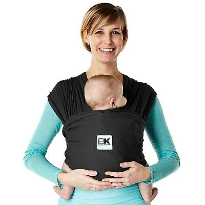 Baby K'tan Breeze Baby Carrier, Black, Small