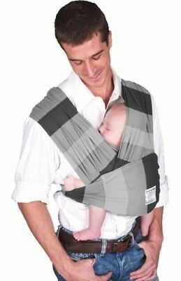 Baby K'tan Nifty Shades of Grey Baby Carrier Small