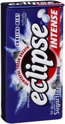 """""""New"""" CONF WRIGLEYS ECLIPSE MINTS INTENSE EX.STRONG(BX16) Free shipping"""