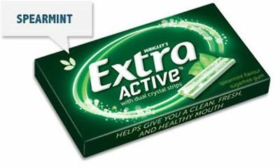 """""""New"""" CONF WRIGLEYS EXTRA ACTIVE SPEARMINT(BX24) Free shipping"""