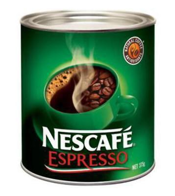 """New"" COFFEE NESCAFE ESPRESSO CAN 375G(EACH) Free shipping"