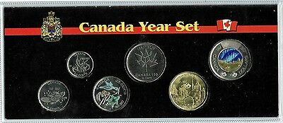 2017 Canadian BU Colored 150TH Anniversary of Federation 6 Coin Set!