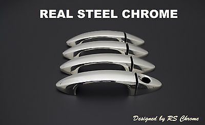 Ford Mondeo MK4 Chrome Door Handle Cover Set 2008-2014 Stainless Steel