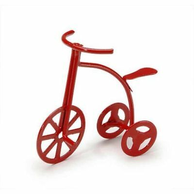 Miniature Dollhouse Fairy Garden Red Tricycle - Buy 3 Save $5