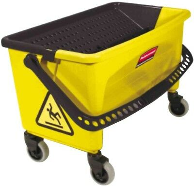 Rubbermaid Commercial Products HYGEN Press Plastic Wring Bucket