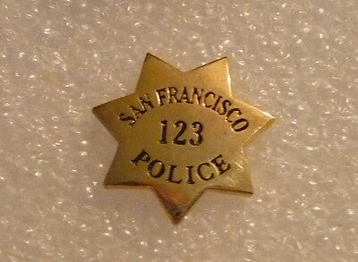 San Francisco Police Badge Lapel Pin
