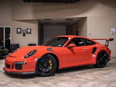 2016 Porsche 911 GT3 RS Coupe 2-Door 2016 Porsche 911 GT3 RS Lava Orange Leather Only 1K Miles LOADED PERFECT RARE