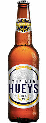 The Mad Hueys Captains Lager 24 x 330mL bottles of beer • AUD 59.99