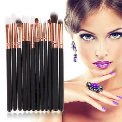 Makeup Cosmetic 12pcs Brushes Set Powder Foundation Eyeshadow Lip Brush Tool Y2