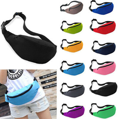 Outdoor Sport Gym Running Bum Bag Woman Man Fanny Pack Travel Handy Waist Bag AU