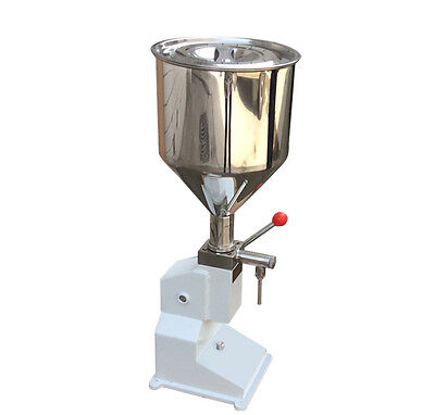 Manual Quantitative Liquid & Paste Filling machine A50 for Cosmetics Drinks Y