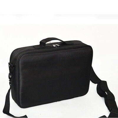 Professional Collection Partition Storage Handle Organizer Cosmetic Bag Case