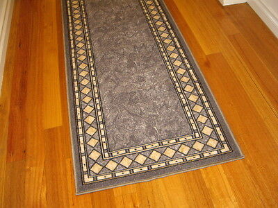 Hallway Runner Hall Runner Rug Modern Grey 6 Metres Long FREE DELIVERY 94645