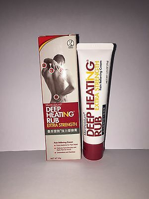 1 x Mentholatum Deep Heating Rub Extra Strength 35g