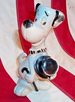"VINTAGE Huckleberry~Hound soft~vinyl 6"" Squeak Toy DELL HANNA~BARBERA"