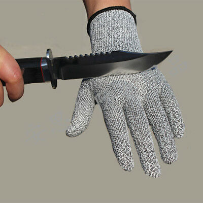 Stainless Butcher Gloves Steel Safety Cut Proof Stab Resistant Metal Mesh Wire