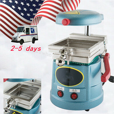 USA Durable Dental Vacuum Forming Machine Molding Former Heat Thermoforming