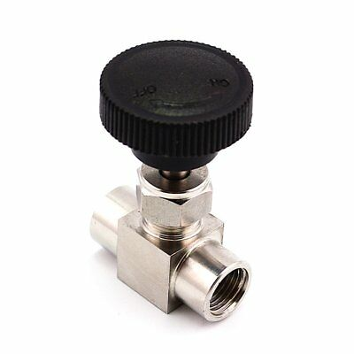 Needle Valve 3/8'' Female Thread BSP Stainless Steel 304 For Water Gas Oil