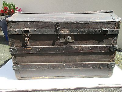Antique Dome Topped Trunk, Chest