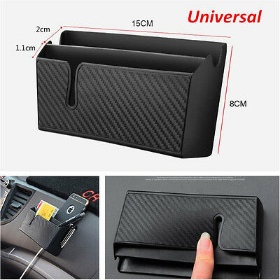Car Accessories Organizer Air Outlet Storage Bag Box For Phone Cigarette Tickets