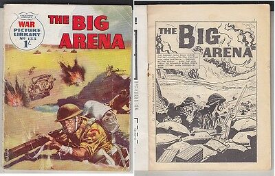 C1 Hugo PRATT The Big Arena FLEETWAY 1962 EO Edition Originale FIRST EDITION