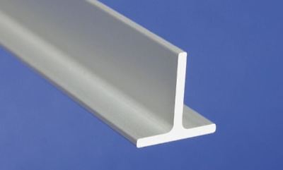 Aluminum Anodised Channel T Shape Section Bar, T -profile, 1 m