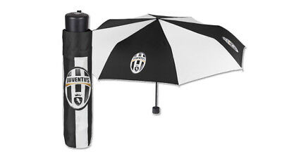 Ombrello Juventus 15194 Mini Richiudibile Manuale Fc Juve Accessori Tifoso Sport