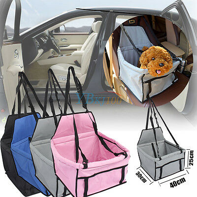 Pet Carrier Seat Travel Case Dog Kennel Puppy Sided Bag Family Holding for Car