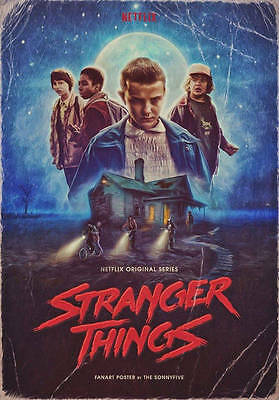 POSTER STRANGER THINGS 2 WINONA RYDER Millie Bobby Brown SEASON LOCANDINA #13