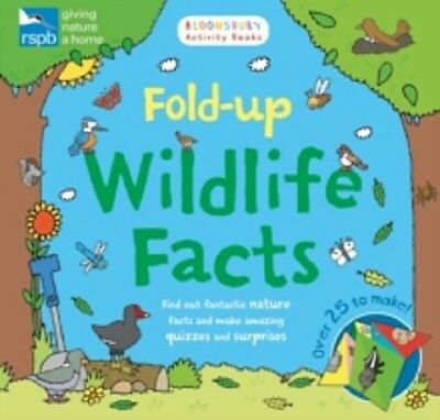 Fold Up Wildlife Facts / Rspb	9781408888636