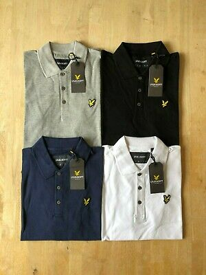 Lyle and Scott Men's Short Sleeve Polo Small to XXL ! !