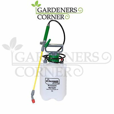 Kingfisher 3L Pressurised Hand Sprayer Water Spray Bottle Insect Killer