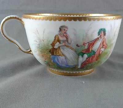 Beautiful Cup Porcelain Sevres 19Th