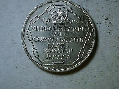 Jamaica 1966 5 Shillings  Commonwealth Games