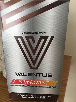 Valentus SlimRoast Coffee Weight loss- One Month Supply FREE energy 3 Day Trial