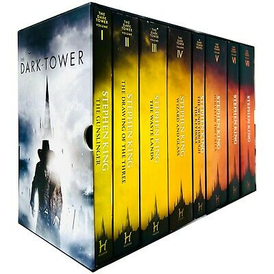Stephen King The Dark Tower Series 8 Books Collection Box Set Gunslinger NEW