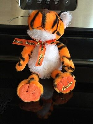 """Reeses Peanut Butter Cups Plush Musical Singing Rapping Tiger By Gallerie 10"""""""