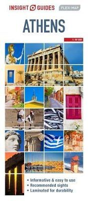 Insight Flexi Map Athens (Insight Flexi Maps), Guides, Insight, New Book