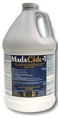 MadaCide-1 Disinfectant Cleaner, Liquid, 1 Gallon, Mada Medical 7009 MadaCide1