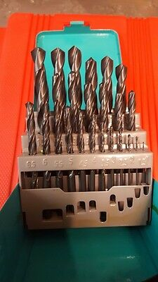 25Pc High Quality German Made Hss Jobber Drills 1-13Mm Steel Drilling Sr2