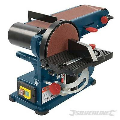 "350W Bench Belt & Disc Sander 390mm 15"" Comination Sander Sanding Tool  972660"