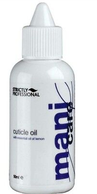 Strictly Professional  * Cuticle Oil * with Essential Lemon Reduces Dryness 50ml