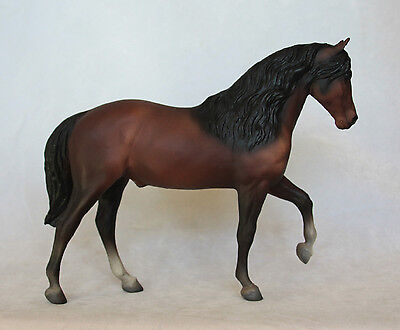 Solid Face El Pastor, Rare Version, Made Early 1974 Only, Breyer Horse Paso Fino