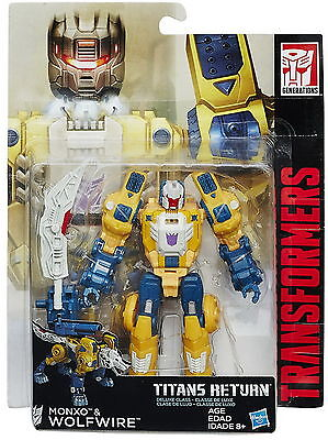 Transformers Generations Titans Return Titan Master Monxo and Wolfwire
