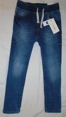 NEW Boys Size S 6-7 Years Gap Kids Jeans Elastic Waist Straight Fit 2017Line NWT