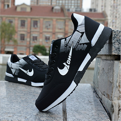 Hot Sports Breathable Men's Sneakers Shoes Casual Fashion Running Athletic Shoes