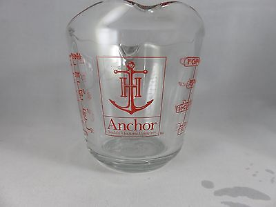 Made in USA Anchor Hocking Oven Originals 1 Cup Measuring Cup