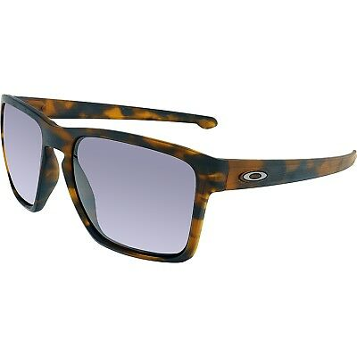 Oakley Men's Sliver OO9341-04 Brown Square Sunglasses