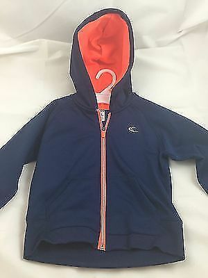 Carter's Toddler On the Move Dark Blue Zip-Up Hoodie Jacket 2T